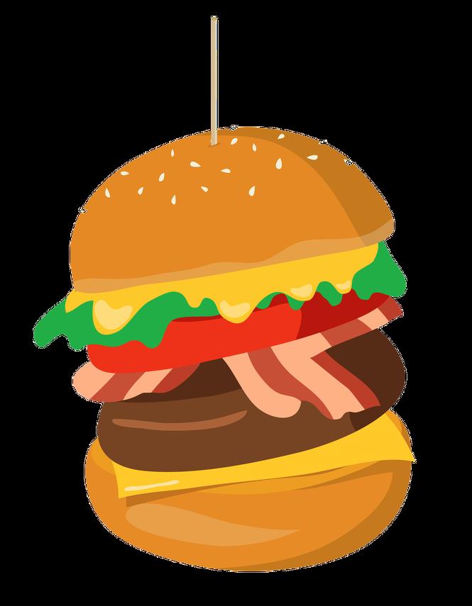Image vecteur d'un hamburger